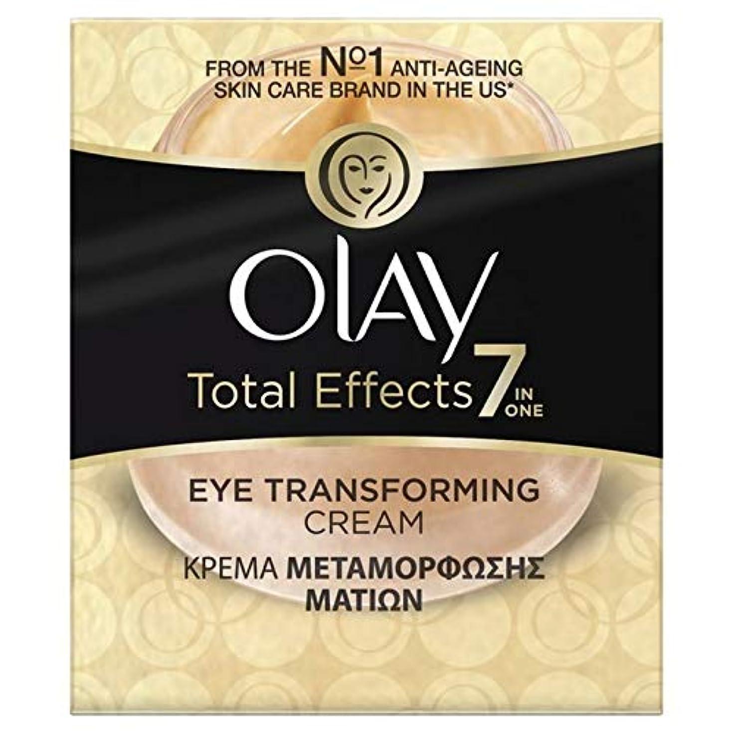 軽食あそこキャラクター[Olay] オーレイ総効果眼変換クリーム15Ml - Olay Total Effects Eye Transforming Cream 15ml [並行輸入品]