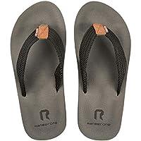 WOTTE Men's Flip Flops Rock Thong Sandals for Beach