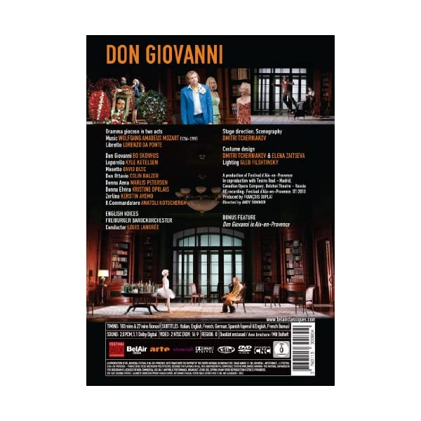 Don Giovanni [DVD] [Imp...の紹介画像3