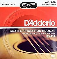 D'Addario EXP17 Coated Phosphor Bronze Medium×5SET アコースティックギター弦