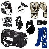 Venum Challenger 2.0MMAトレーニングセット 16-Oz. Boxing Gloves, M. MMA Gloves