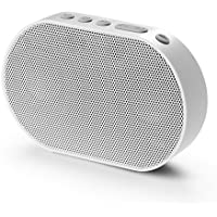 GGMM ワイヤレス ブルートゥース ポータブル スピーカー 高音質 アマゾン アレクサ音声サービス 高機能 スマートホーム AirPlay/DLAN対応 14時間連続再生 E2 (Wi-Fi+Bluetooth, 白)