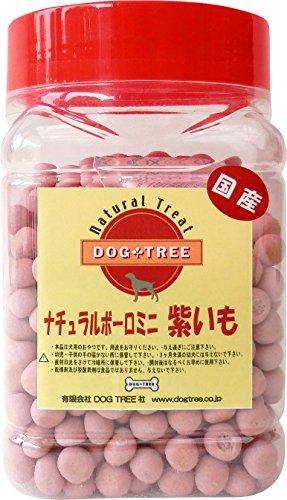 犬用 おやつ 国産無添加 ナチュラルボーロミニ紫いも角ボトル...