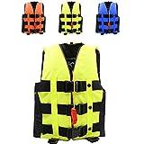 ライフジャケット フローティングベスト 救命胴衣 2-6歳 強い浮力 高い負荷力 Hibote S M 子供用 緊急時に役立つ 漂流 ボート釣 グリーン S