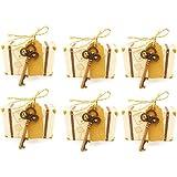 BESTOYARD ウェディングキャンディーボックスヨーロッパスタイルのウェディングスーツドレスDIYのブライドルとグルームキャンディーボックス100個
