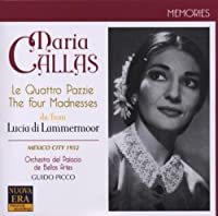 Four 'madnesses' from Lucia Di