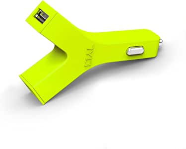TYLT Y-Charge USB Car Charger - 4.2A Green YCHG42G-T