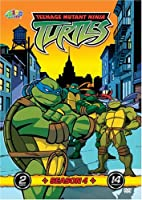 Teenage Mutant Ninja Turtles - Season 4 (2 Discs, 14 Episodes)