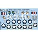 1/48 米陸軍 カーチスP-40 ウォーホーク「High Kicker」, 「Butterfly Girl」