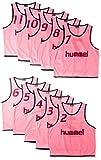 (ヒュンメル)hummel サッカーウェア トレーニングビブス タンクトップ HAK6006Z [メンズ] HAK6006Z 25 ピンク L-O