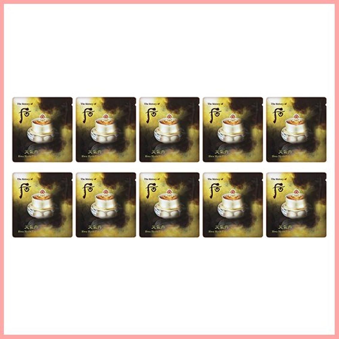 流行しているコンチネンタル雨のThe History of Whoo Cheongidan hwahyun eye cream x 10EA [サンプル][TTBEAUTY]