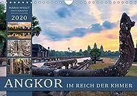 ANGKOR - IM REICH DER KHMER (Wandkalender 2020 DIN A4 quer): Die Stadt der Goetter im schoensten Licht (Monatskalender, 14 Seiten )