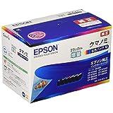 エプソン (EPSON) 純正インクカートリッジ KUI-6CL-M 6色パック 黒のみ増量タイプ