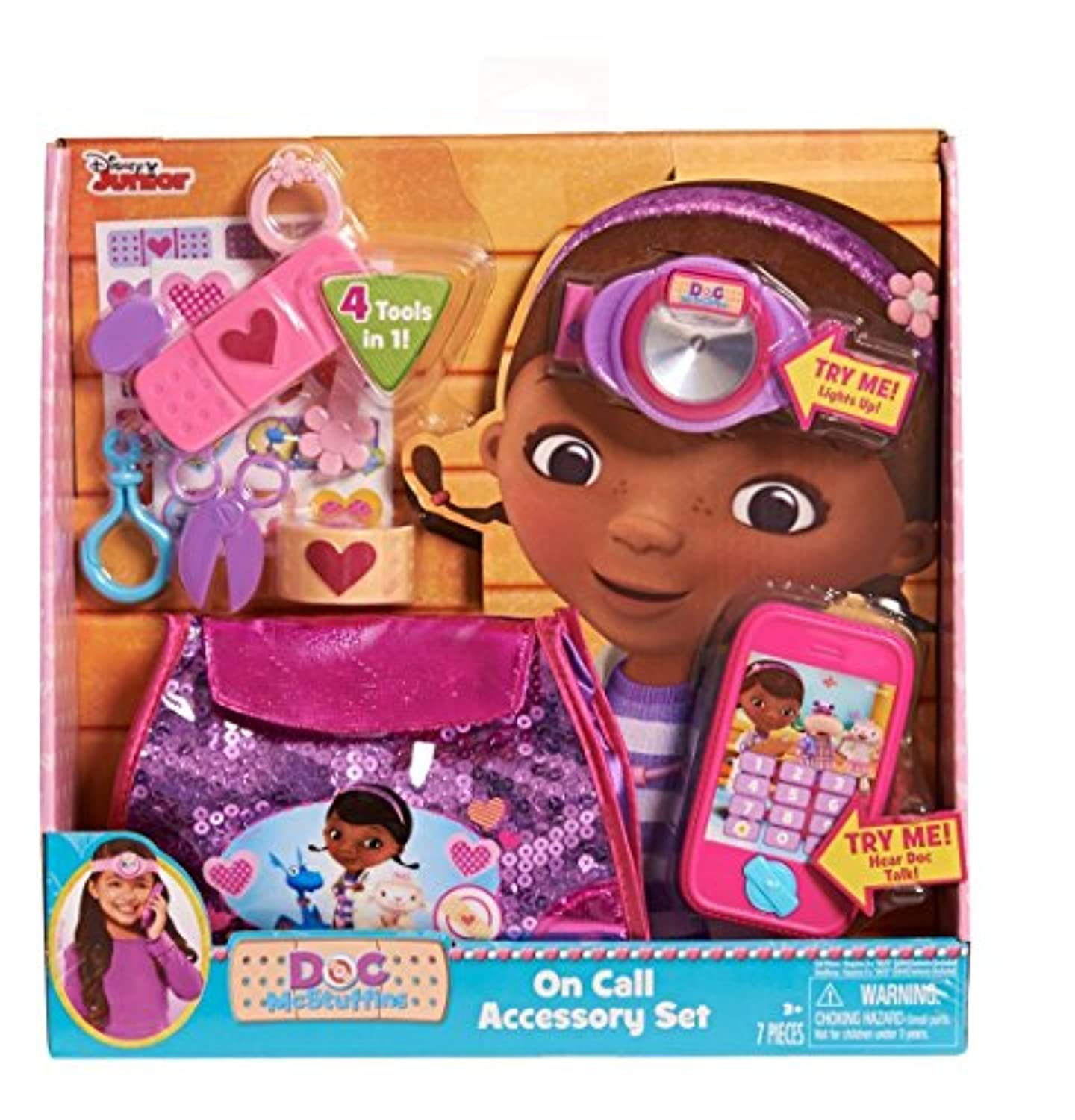 Doc McStuffins On Call Accessory Set (Discontinued by manufacturer) [並行輸入品]