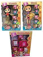 Boxy Girls Dolls Haley、Hannah、Season 2 + ファッションボックスギフトセットバンドル