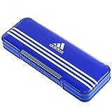 三菱鉛筆 筆箱 アディダス P1505BT1 青