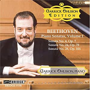Beethoven Piano Sonatas Vol. 1
