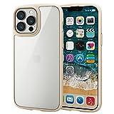 エレコム iPhone 13 Pro Max ハイブリッドケース TOUGH SLIM LITE フレームカラー アイボリー PM-A21DTSLFCIV