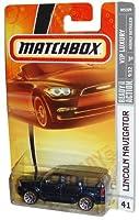 Mattel Matchbox 2007 MBX VIP Luxury 1:64 Scale Die Cast Metal Car # 41 - Black Luxury Sport Utility Vehicle SUV Lincoln