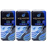 【まとめ買い】アクアリフレ 液体消臭剤 室内用 トイレ用 無香料 400ml 2か月間効果持続×3個セット