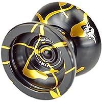 Fentac Magic YOYO N11 Alloy Aluminum Yo-Yo Professional YoYo Toy Black&Glod [並行輸入品]