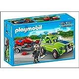 Best 乗用芝刈り機 - プレイモービル playmobil 6111 芝刈り機と運搬車 [並行輸入品] Review