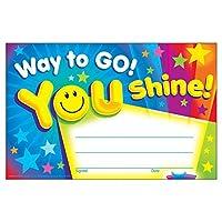 Trend Enterprises Inc. T-81047BN Way to Go! You Shine! Recognition Awards 30 per Pack 12 Packs [並行輸入品]