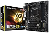 GIGABYTE Intel H270チップセット搭載マザーボードGA-H270M-D3H
