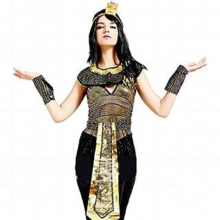 b63f18cf77ce09 ハロウィンでクレオパトラのおもしろかわいい仮装. (バハギア) Bahagia 古代エジプト 女王 クレオパトラ コスチューム ( ハロウィン衣装  5点 セット ...