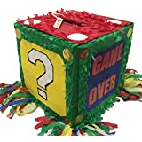 Video Game Theme Pinata High Score Game Over