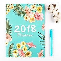 2018 Monthly PlannerDistana Calendar Schedule Organizer and Journal Notebook [並行輸入品]
