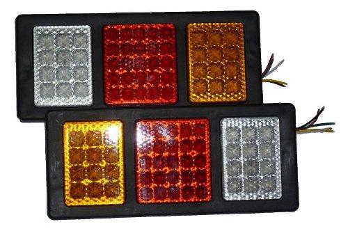 TiproPechka トラック LED テールランプ 44LED 左右セット (24V用)