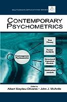 Contemporary Psychometrics (Multivariate Applications Series)