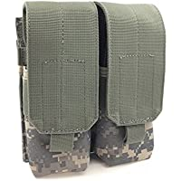 TAC Force webtac Modular AR / sa80/ 5.56mmデュアルMagポーチ調節可能フラップwith Pullタブ