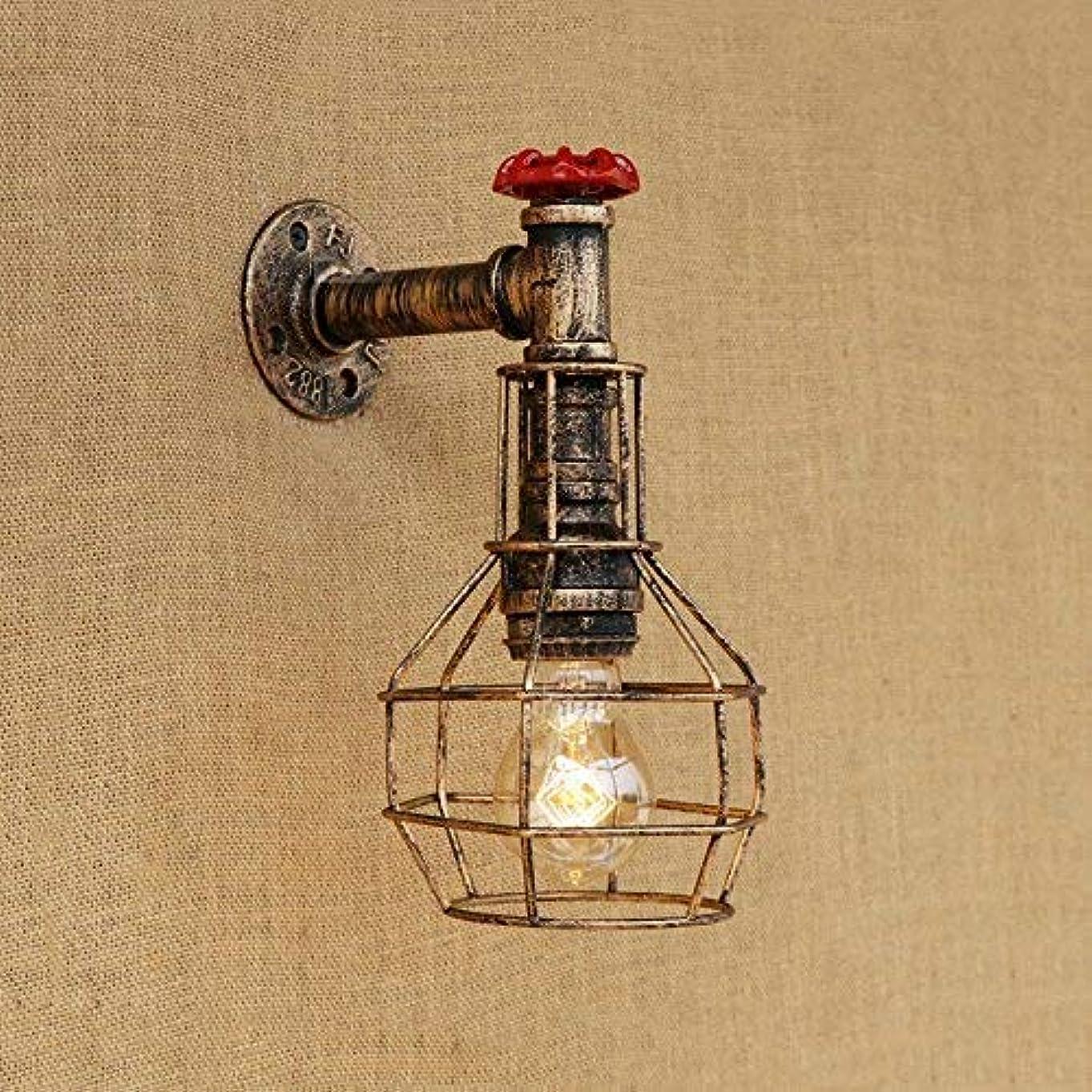 不快なアスリートオークランド壁面ライト, ウォールランプロフトアイアンライト寝室研究階段廊下バークラブパブレストランカフェランプブラジャー壁取り付け用燭台、A AI LI WEI (Color : A)