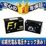 【1年保証付き】 F1 バッテリー FT7B-4【YT7B-BS互換】【GT7B-4互換】【液入れ充電済み】【バイク用】【バッテリー】