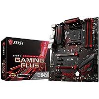 MSI B450 GAMING PLUS ATX ゲーミングマザーボード [AMD B450チップセット搭載] MB4527
