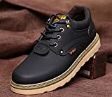 (チェリーレッド) CherryRed メンズ 靴 シューズ 紳士靴 カジュアルシューズ スニーカー 運動靴 スリッポン イギリス風 革靴 本革 作業靴 軽量 履き心地よい ブラック