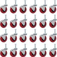 """Online Bestサービスheavy-duty 2.5"""" Swivel Casterホイールクリーパーサービスカートスツールポストマウント"""