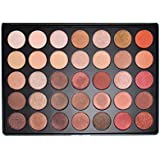Morphe 35OS Shimmer Color Nature Glow Eyeshadow Palette [並行輸入品]