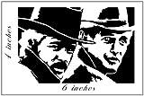 Butch Cassidy and the Sundance Kidステッカーカットビニールデカール