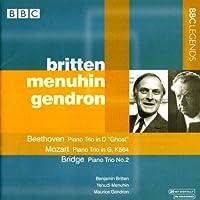 ベートーヴェン:ピアノ三重奏曲第5番「幽霊」/モーツァルト:ピアノ三重奏曲 K. 564/ブリッジ:ピアノ三重奏曲第2番(メニューイン/ブリテン/ジャンドロン)(1963)