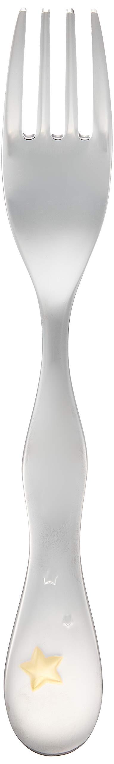 ナルミ NARUMI クラウンキッズ フォーク シャイニングスター 14cm SK596-2