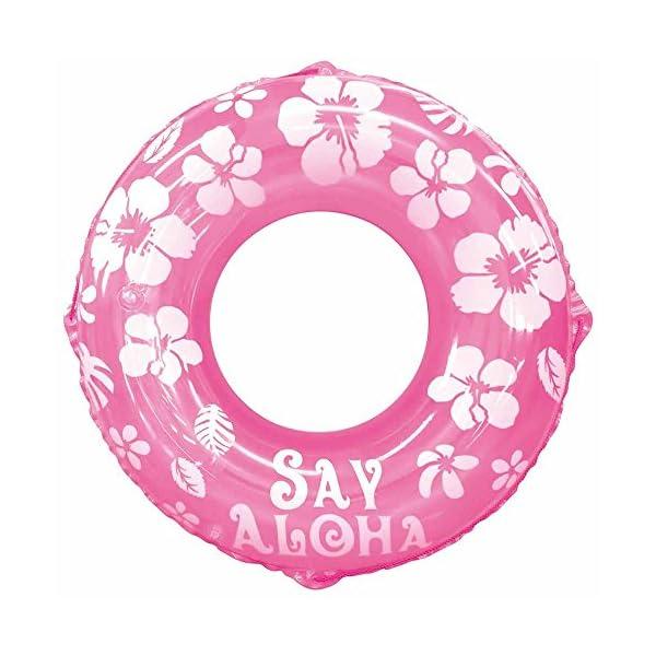 ドウシシャ 浮き輪 SayAloha ピンク 1...の商品画像