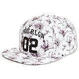 True Religionレディース水彩花柄野球スナップバック帽子キャップ