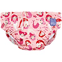 Bambino Mio, Reusable Swim Nappy, Mermaid, Small (0-6 Months)