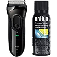 ブラウン メンズ電気シェーバー シリーズ3 3020s-B 3枚刃 水洗い可 +シェーバークリーナー