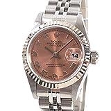 [ロレックス]ROLEX 腕時計 デイトジャスト 69174 U番台(1997年) 中古[1299715]U番台(1997年) ピンクローマン付属:国際保証書 タグ