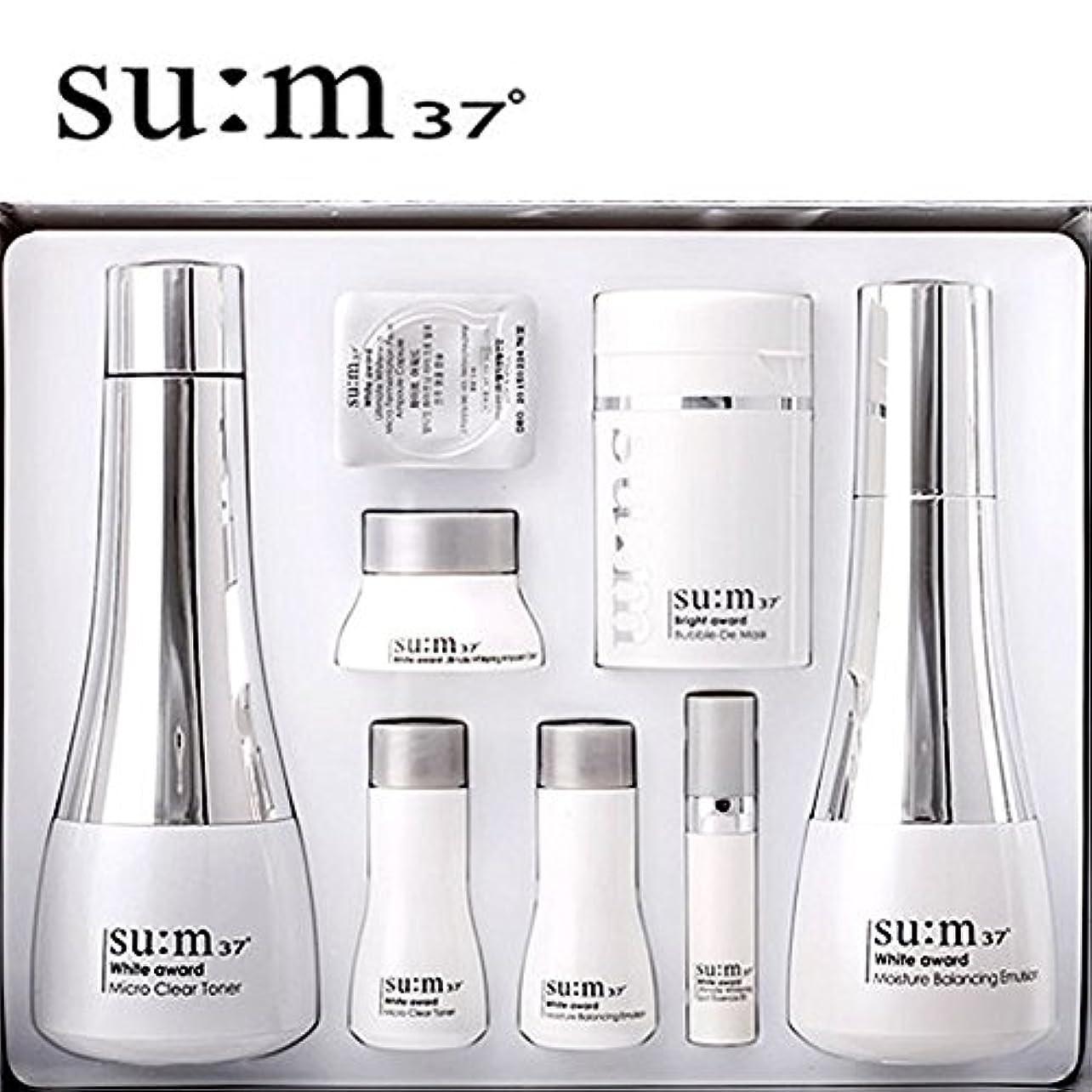 にじみ出るマニュアルリンケージ[su:m37/スム37°] SUM37 White Awards 2pcs Special Set/ホワイトアワード 2種 スペシャルセット+[Sample Gift](海外直送品)