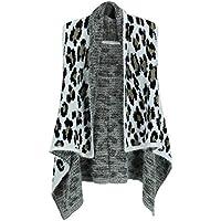 Love of Fashion Women's Fuzzy Leopard Print Pattern Vest